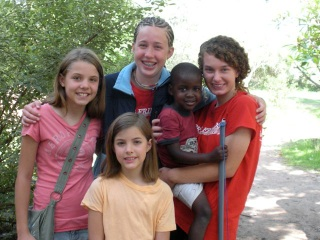 Joanna and Hope were here for 4 weeks and we want to adopt them!! They were so wonderful and such an incredible example to our girls of what it looks like to be a Godly teenager. We are very, very grateful for the investment they made in our family. We love you guys!